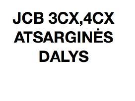 Atsargines Dalys, remontas, JCB 3cx 4cx Gera Kaina - nuotraukos Nr. 2