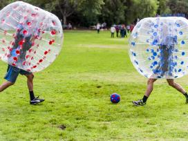 """Parduodami pripučiami kamuoliai """"Bumper ball"""" - nuotraukos Nr. 2"""
