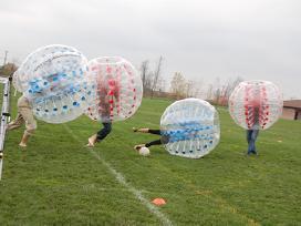 """Parduodami pripučiami kamuoliai """"Bumper ball"""""""