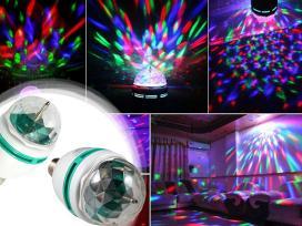 Ivairiaspalvė,vakarėlių, disko lempa