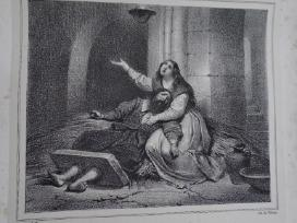 Litografija- Kunigaikšt. Glinskis. Chodzko. 1830m.