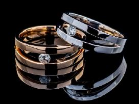 Sužadėtuvių žiedai ir vestuviniai