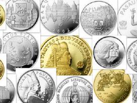 Perku Lietuvos Banko Monetas