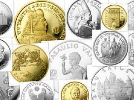Perku auksines ir sidabrines monetas - nuotraukos Nr. 4