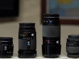 Sony alpha / minolta objektyvai