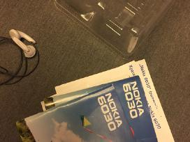 Nokia 6030 dėžutė ir vartotojo vadovas