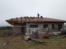 Stogų dengimas stogai, stogų remontas, skardinimas - nuotraukos Nr. 9