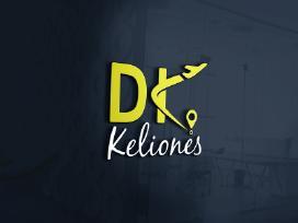 DK kelionės logotipo kūrimas - nuotraukos Nr. 11