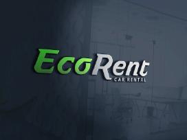 EcoRent logotipo kūrimas - nuotraukos Nr. 13