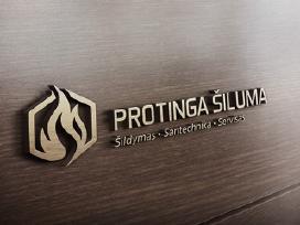 Protinga šiluma logotipo kūrimas - nuotraukos Nr. 14