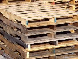 Padėklai, paletės, konstrukcijos iš medienos