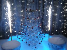 Šampano taurių piramidė Vilniuje - nuotraukos Nr. 2
