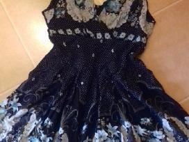 Juoda marga suknelė