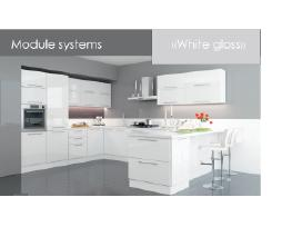 Virtuvines Spinteles Omega White