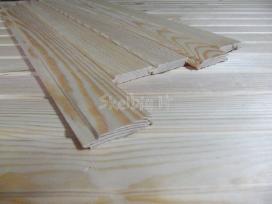 Kampeliai iš įvairios medienos (išorės ir vidaus)