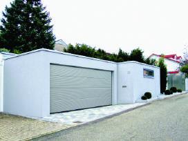 Garažo vartai, kiemo vartai, šlagbaumai