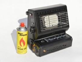 Dujinis šildytuvas - viryklė 2in1