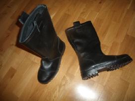 Nauji odiniai lietuviški vyriški batai 42 dydis