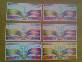 Kolekciniai Lietuviški banknotai - Baltai