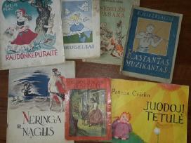 Perku seno leidimo vaikiškas knygutes
