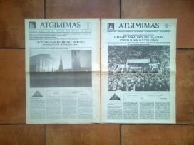Sajudzio steigiamasis suvaziavimas 1988 metai.
