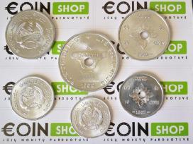 Daug ivairiu monetu komplektu - nuotraukos Nr. 4
