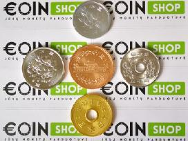 Daug ivairiu monetu komplektu - nuotraukos Nr. 3