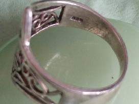 Sidabrinis žiedas /Rankų darbo sidabrinis žiedas - nuotraukos Nr. 5