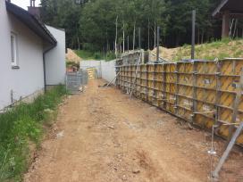 Pamatai,tvoros ir visi betonavimo darbai. Cfa. - nuotraukos Nr. 18