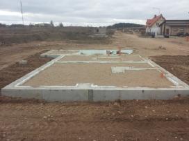 Pamatai,tvoros ir visi betonavimo darbai. Cfa. - nuotraukos Nr. 20