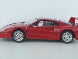 1/43 modeliukai Ferrari F40