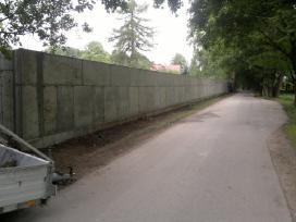 Pamatai,tvoros ir visi betonavimo darbai. Cfa. - nuotraukos Nr. 21