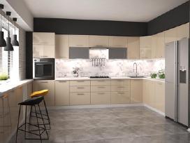 Virtuviniai komponentiniai baldai Light