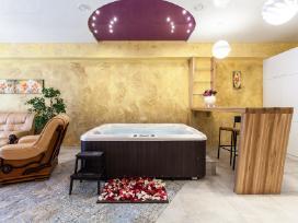 Apartamentu nuoma su Sauna ir Jacuzzi (Dzakuzi)