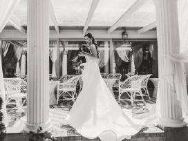 Liutauro Salasevičiaus kurta vestuvinė suknelė