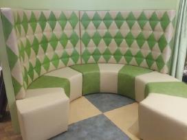 Minkštų baldų remontas Vilniuje