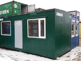 Konteinerinis namelis, biuro konteineris naujas