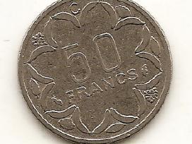 Centrinė Afrika (Beac) 50 francs 1976 #11 - nuotraukos Nr. 5