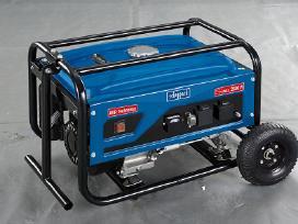Vokiškas benzininis generatorius 2,8 kw Scheppach