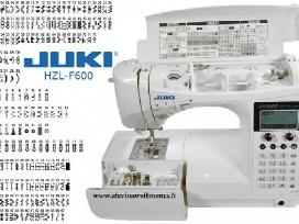 Siuvimo mašina Juki Hzl-f600 tik 780 eur
