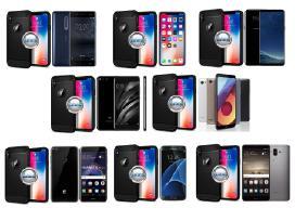 Siege dėklai nugarėlės mobiliems telefonams