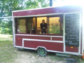 Maisto priekaba/food truck nuoma