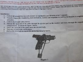 Spyna ginklo užrakinimui - nuotraukos Nr. 2