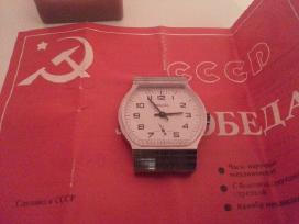 Naujas tarybinis rankinis laikrodis pobeda - nuotraukos Nr. 3