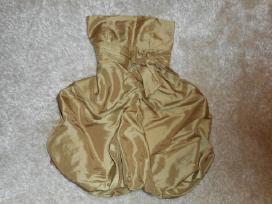 Aukso spalvos proginė suknelė - nuotraukos Nr. 2