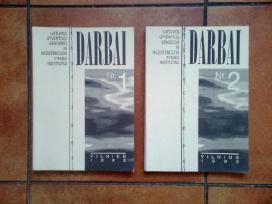 """Rezist. tyrimo instituto zurnalas """"Darbai"""" 1996 m."""
