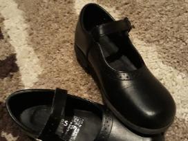 Proginiai odiniai juodi batukai 13 dydis