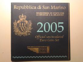 San marino euro monetų rinkiniai