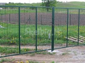 Tvoros stulpai , tinklai, vartai ,tveriame tvoras, - nuotraukos Nr. 2