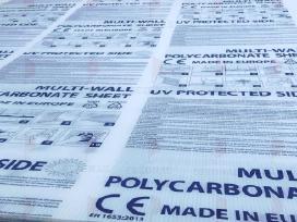 Kanalinis polikarbonatas nuo 2,95 Eur/m2!